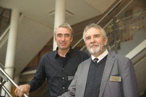 Andreas Wild und Paul Schlosser